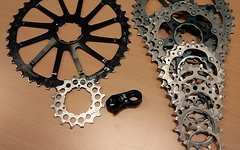 Shimano xtr m980 11-36, Wolftooth 42/16 Goatlink