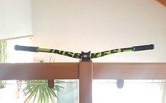 NS Bikes Evidence plus Lenker 800mm neon grün/gelb