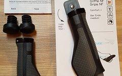 Cube Neue Natural Fit Comfort Griffe Größe Large (L) Black'N Grey