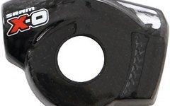 """SRAM X0 / XO (auch: X9 / X7) Echt-CARBON Gehäusedeckel / Abdeckung für Schalthebel / Trigger (""""Limited"""" Edition, 2-fach / 3-fach Trigger, links) (NEU) [1 Stück auf Lager]"""