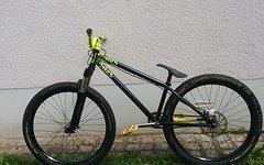 NS Bikes Majesty Custom Aufbau