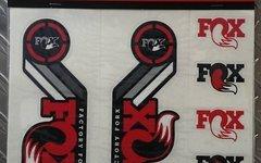 Fox Decal Kit Heritage 2015 rot Dekorsatz