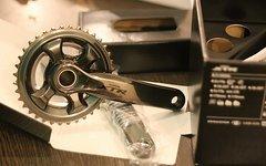 Shimano XTR M9020 Trail 11 fach Kurbel 165mm mit Kettenblättern