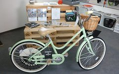 "Creme Cycles Mini Molly 24"" Pistachio / Kinder-Retro-Rad NEU"