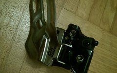 SRAM X0 Umwerfer 3x10 31,8mm High Clamp Bottom Pull