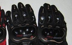 Handschuhe Downhill Gr. L mit Schutz