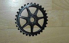 S&m Bikes L7 Bmx Kettenblatt, 30t (Spline drive)