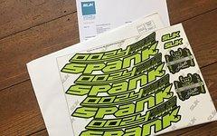 Spank Oozy 295 Trail - Decal Set