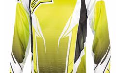 Alpinestars A- Line Long Sleeve Jersey Yellow Fluo White XXL