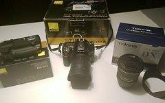 Nikon D7100 mit MB-D15, AF-S VR 18-105 und Tokina 12-24 - MUSS WEG!