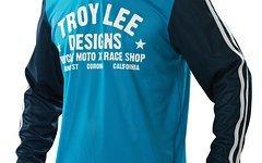 Troy Lee Designs Super Retro Jersey M Blue *NEU*