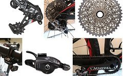 SRAM Specialized S-Works WC Epic SRAM XX1 1x11 Fach Carbon Kurbel