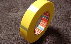 Tesa 4289 Tesa-Strapping Tape 4289, 25mm(66 Meter) NoTubes Yellow-Tape, Felgenband