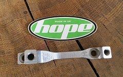 Hope H Adapter für Postmount 183er Bremsscheiben