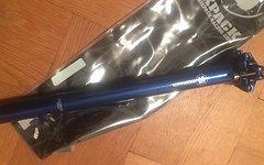 Sixpack Sattelstütze 27,2 mm Blau