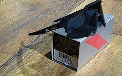 100% Speedcraft (STD) Base Performance Sunglasses - Soft touch black - smoke lens