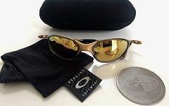 Oakley XX X-Metal Gold 24k Iridium Sonnenbrille, neuwertig, sehr selten, 100% original