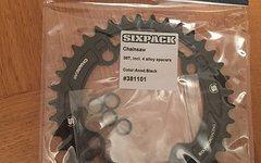 Sixpack Chainsaw Kettenblatt 38z Schwarz