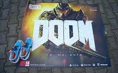 Doom Empfangs Geschäftsmatte