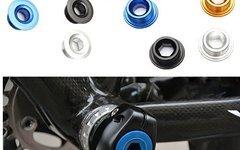 Kurbel-Schraube Crank bolt Shimano XT XTR Alu HOLLOWTECH II div: Farbe