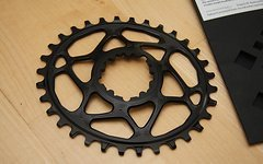 Absolute Black 32T black OVAL SRAM GXP N/W direct mount chainring