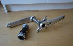 Shimano XT Kurbel FC-M770 Kurbel 175mm !defekt!