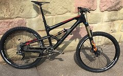 "Focus SAM Carbon 2017 Rahmen Gr. L, 27,5"" -  XTR Di2 / FOX"