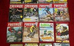 Freeride Zeitschriften von 4/14 - 1/18