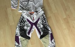 "Troy Lee Designs Trikot Gr.M + Hose Gr.27-28 (7/8) ""Angel"" Set"
