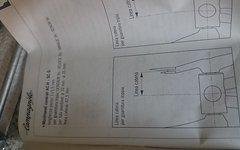 Campagnolo Centaur Triple Innenlager OVP 115,5mm
