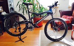 Cannondale Rush Carbon Team Custom Fully Gr. L