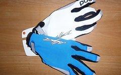 POC Index Air Sönderström L blau/weiß Handschuhe MTB