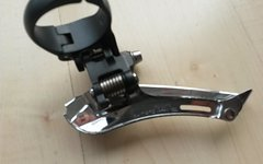 Shimano Umwerfer FD-CX70, 2-/10-fach, Top Pull, Down Swing, Schelle 34,9 mm