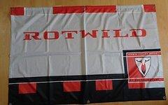 Rotwild MT Kult Flagge Banner Fahne 150 x 97 cm