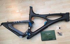 Ibis Cycles HD 2012 Carbon blau Größe L