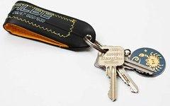 Schwalbe Schlauch Schlüsselanhänger mit Stoff