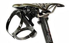 M-Bike Parts, Feathery Carbon Radsattel Trinkflaschenhalter Kit - FC201Sportly abnehmbar.