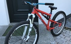 Commencal Absolut sx Slopestyle Fox Hope pro 4 shimano slx