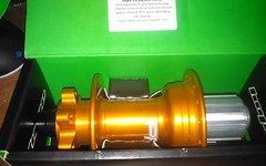 Hope Pro 4 Hinterradnabe - Disc - 12x150mm - orange