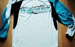 Platzangst Downhill/ Freeride Jersey XL blau