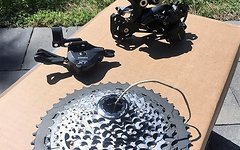 Shimano XT gruppe M8000 upgrade kit