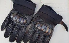 Highlander Combat Bomber Handschuhe, schwarz