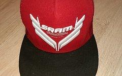 Troy Lee Designs / SRAM Cap Rot LIMITED Trucker Cap DH Mütze