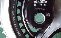 Shimano Dura Ace Kurbelgarnitur FC-9000 Hollowtech II 52/36 175mm