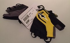 Alpinestars Pro Light Short Finger Gloves Yellow S