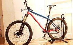 NS Bikes Eccentric Cromo / Edelstahl 650b / Größe L