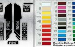 Evocore Design Rock Shox Pike Decals
