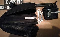 Topeak Satteltaschen Topeak und Procycle inkl Werkzeug und Regenhüllen