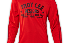 "Troy Lee Designs SUPER RETRO JERSEY ""Gr. M"" RED"