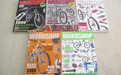 Zeitungen Und Kataloge Bike Workshop/ Mountainbike Rider etc.